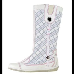 Timberland White Cohasset Tall Pull On Boots Sz 9M